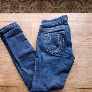 True Religion World Series Sec Skinny Jeans - 26